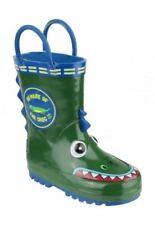 Calzado de niña botas de agua verde verdes