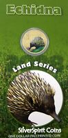 2008 LAND SERIES ECHIDNA Coin on Card