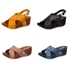 5 PRO JECT sandali scarpe donna in pelle Giallo Nero Marrone Blu Estate