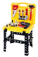 Kinder 57 Teile Werkbank DIY Rollenspiel Spielzeug Set Mit Zubehör Bohrer + T102