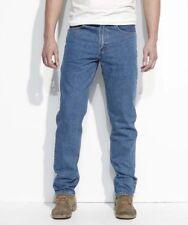 Levi's 504 Men's Stone wash Regular Straight Fit Jeans Size: 42 x 34