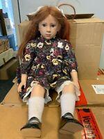 Sigikid Sabine Esche Künstlerpuppe Vinyl Puppe 63 cm. Top Zustand