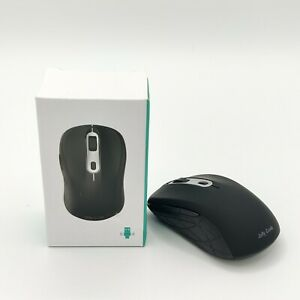 Jelly Comb Slim 2.4G Wireless & Bluetooth Mouse Black Dual Mode