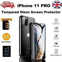 9D Curved Full Gorilla Glass Protection For Apple iPhone 11 Pro LED Screen