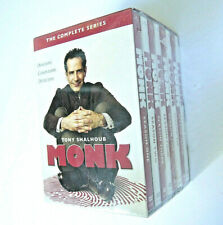 Monk: The Complete Series (DVD, 2016, 32-Disc Set) Sealed