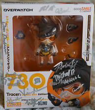 Signed Blizzcon 2017 Overwatch Nendoroid Tracer figure