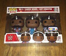 Funko Pop WWE New Day 3-pack TRU Exclusive Kofi Xavier Big E