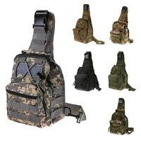 Tactical Bag Molle Hiking Bags Sports Bag Chest Body Sling Shoulder Backpack