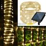 42FT 100LEDs Waterproof LED Tube Light LED Fairy String Rope Lights Garden Decor