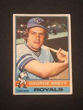 1976 Topps George Brett #19 EX Kansas City Royals HOF *9