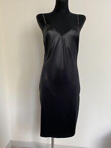 Dolce & Gabbana Mare vintage 90s bodycon black dress size XL