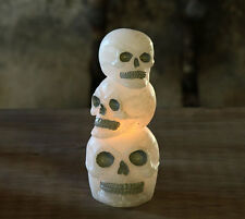 Flameless Candle Wax Skulls Halloween - Candle Impressions 5 x 3