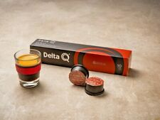 Pack 30 Coffee capsules Delta Q intensity 10 - Best seller Portuguese Coffee