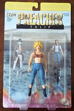PREACHER. TULIP ACTION FIGURE. VERTIGO COMICS. DC DIRECT. 2000. NEW ON CARD