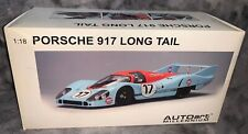 1:18 AUTOART Porsche 917 Long Tail 1971 LeMans Siffert Bell BOX ONLY