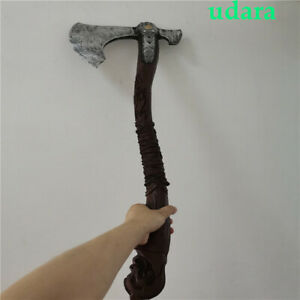Handmade God Of War 4 Axe Kratos Ax 100% Resin Game Figure Oversize DIY Cosplay*