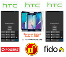 ROGERS / FIDO UNLOCK CODE FOR HTC PHONE ANY CANADIAN MODEL