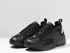 Nike Zoom 2K colore nero ,Scarpa in pelle e tessuto ,chiusura con lacci