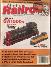 Model Railroad News SW1500s Micro-trains Camelback October 2014 FREE SHIPPING!