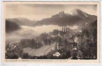 Ansichtskarte Berchtesgaden mit Watzmann/Schönfeldspitze/Funtensee/Grünsee s/w