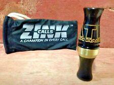 Zink Calls All Things Mallard Acrylic Duck Call-ATM-Black Gold