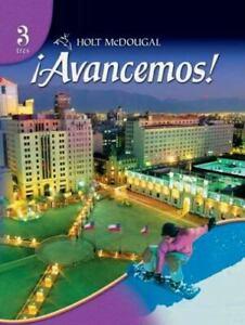 Holt McDougal Avancemos! Level 3 - Hardcover By Estella Marie Gahala - GOOD