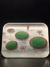John Derian for Target Melamine Rectangular Tray Lily Pad Print ** BRAND NEW **