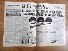1954 Remington Rifle Gun News Ad VBarmint Rifles Model 722