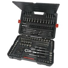 New Craftsman 230 pc Silver Finish Standard and Metric Mechanic's Tool Set 70190