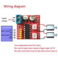 Kit 2.5A Dual Channel DC Motor Driver Mini Module Beyond L298N PWM Speed Control