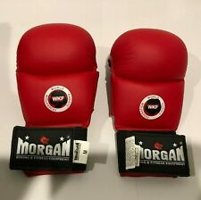 MORGAN DLX FIST PROTECTOR. WKF World Karate Federation Sparring Gloves. Size M.