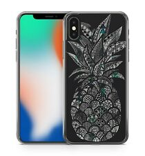 Detailed Artistic Pattern Filled Scrumptious Pineapple Fruit Phone Case Cover