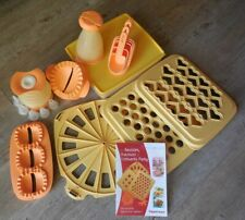 Tupperware - Ravioles Party coeur, Boîte Grand froid 1,26 L, Croissant Party....