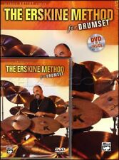 The Erskine Method for Drumset Drum Music Book/DVD Learn How To Play Method