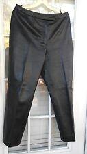 VINTAGE DESIGNER Black Leather Pants JLC New York Size 12