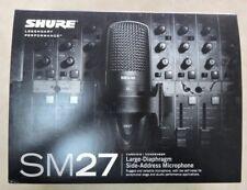 Shure SM27 Large-Diaphragm Microphone