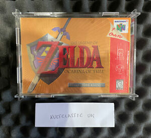 The Legend Of Zelda Ocarina Of Time Collectors Edition N64 CIB VSeam Seal No VGA