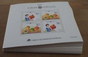 1989 Portugal, 100 Blocks Junge mit Kreisel, postfrisch/MNH, BL 64, ME 1800,-