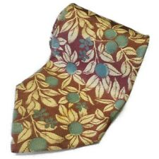 EUC Valentino Made In Italy Silk Floral Tie D30