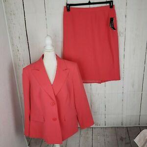 New Kasper Skirt Suit Women's Plus Size Jacket 18W Skirt 16W Work Career NWT