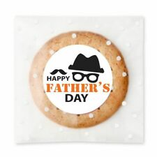 White Father's Day Gift Stickers Bakery Shop Cafe Product Packing Mustache Label