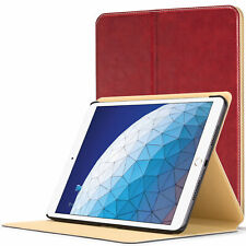 Apple iPad Air 3 Smart Cover | Protective Luxury Case Cover Stand | Red