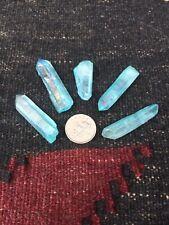 """""""A"""" Grade Aqua Aura Quarts Point Aprox Weight 4 Gms"""