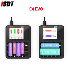 ISDT C4 EVO Smart Battery Charger for AA AAA Li-ion Battery