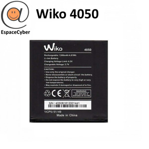 Battery Wiko 4050 Sunset 2/Sunset 1 - 1300mAh