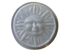 Large Sun Stepping Stone Plaster or Concrete Mold 1152 Moldcreations