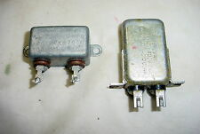 Two Aerovox Micamold 1uF 400VDC Oil Capacitors Tube Amps