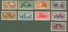 TRIPOLITANIA. Anno 1930. Serie Virgilio. Posta ordinaria + posta aerea.