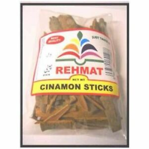 Cinamon Stick whole State 50,100,200,450g (Rehmat Brand)  (Free post in UK)