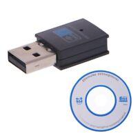 300Mbps Mini USB2.0 WiFi 802.11 n/g/b LAN Network Card Wireless Dongle Adapter